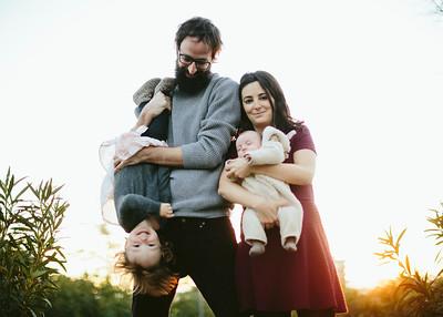 Ines, Imanol y familia