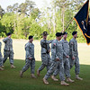 (FORT BENNING, Ga) COL Jonathan T. Neumann relinquished command of the 198th Infantry Brigade to COL Richard F. Timmons in a Change of Command Ceremony May 19, 2014.  (Photo by Patrick A. Albright / MCoE PAO Photographer)