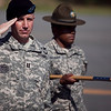 (FORT BENNING, Ga) LTC Thomas M. Nelson relinquishes command of the 1-50 Infantry Brigade to LTC William A. Kahmann, June 04, 2014 at Kanell Field.   (Photos by: Patrick A. Albright/MCoE PAO Photographer)