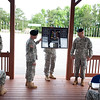 (FORT BENNING, Ga) LTC Jeffrey S. Crapo relinquishes command of the 2nd Battalion, 58th Infantry Regiment to LTC James G. Pangelinan, june 10, 2014 at Kanell Field. (Photos by: Patrick A. Albright/MCoE PAO Photographer)