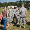 16 APR 2011 Sergeant Major of the Army Raymond F. Chandler III, spends the day at Fort Benning, visiting soldiers in Harmony Church and watching events during day two of the Best Ranger Competition.  Photo by Susanna Avery-Lynch - susanna.lynch@us.army.mil