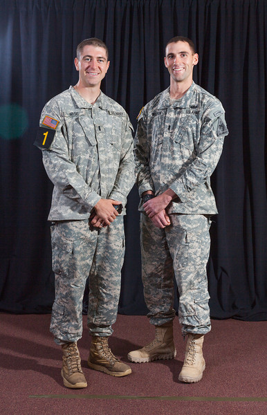 1st Lt. Zachary Wise and 1st Lt. Stephen<br /> Willson, 1st Armored Division