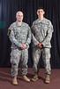 1st Lt. Jason Laackmann and 1st Lt.<br /> Nicholas Broussard, 1st Infantry Division