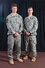 1st Lt. Colin Grant and Capt. Grant Hewins,<br /> 10th Mountain Division