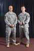 Sgt. 1st Class Chad Acton and 1st Lt.<br /> Brian Thebaud, 101st Airborne Division