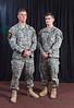 1st Lt. Merle McConnell and 1st Lt. Benjamin<br /> Jackson, 101st Airborne Division