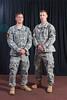 1st Lt. Jonathan Brege and<br /> 1st Lt. Jeffrey Ivas, 101st Airborne Division
