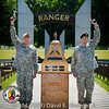 The National Ranger Memorial at Fort Benning is the backdrop for the 2011 Best Ranger Competition Awards Ceremony..(Photo by John D. Helms/MCoE Photographer)