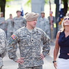 (FORT BENNING, Ga) )  4th Ranger Training Battalion Assumption of Command Ceremony for LTC Thomas J. Sager , June 20, 2013  (Photo by: Patrick A. Albright/MCoE PAO Photographer)