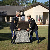 The Sgt. Jonathan Peney Aid Station was dedicated at Camp Rogers on Fort Benning's Harmony Church cantonment area Sept. 16, 2011 by the Ranger Training Brigade. The renovated building will provide first-response care for ill or injured Soldiers. Peney, a combat medic with 1st Battalion, 75th Ranger Regiment, left for his fourth deployment to Afghanistan just days after graduating from the U.S. Army Ranger School. He was fatally wounded June 1, 2010, by enemy fire while moving under heavy fire to provide aid to a wounded Ranger in the Kandahar Province, Afghanistan.  (Photo by U.S. Army)