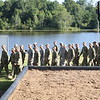 "(FORT BENNING, Ga) Maneuver Center of Excellence leaders, Family and friends<br /> of Ranger Class 08-15 gather to watch the Rangers in Action demonstration<br /> and ""pin"" their loved ones with the coveted Ranger Tab at Victory Pond.<br /> August 21, 2015. (Photos by Markeith Horace/MCoE PAO Photographer)"