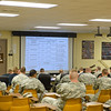 23 FEB 2011 - MCoE Commanding General MG Brown visits 6th RTB Ranger Training Florida Phase, Camp Rudder, FL.  Photo by John D. Helms - john.d.helms@us.army.mil