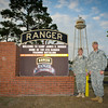 22 FEB 2011 - US Army 6th RTB Ranger Training Florida Phase Commander LTC Seifert and CSM Elder, Camp Rudder, FL.  Photo by John D. Helms - john.d.helms@us.army.mil