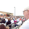 (FORT BENNING, Ga) ) Soldiers, families and civilians gather for the 1-50 building dedication and ceremony May 2, 2013 on Fort Benning Ga. (Photos by: Patrick A. Albright/MCoE PAO Photographer)