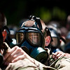 CBRN (Chemical, Biological, Radiological and Nuclear) Confidence Training.