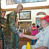 MG Robert Brown, MCoE Commanding General, spends the afternoon at The Best Ranger Competition with 16 year old Christopher McNally as part of A Make A Wish Dream. McNally is recovering from cancer. Photos by Susanna Avery-Lynch