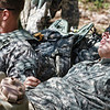 16 APR 2011 - Day two of the Best Ranger Competition, MCoE, Fort Benning, GA. Photo by Todd Hibbs.