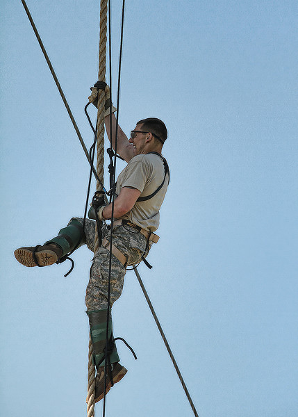 16 APR 2011 - Day two of the Best Ranger Competition, MCoE, Fort Benning, GA. Photo by Todd Hibbs