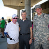 17 APR 2011 - Day three of the Best Ranger Competition finishes with the buddy run at Freedom Hall, MCoE, Fort Benning, GA -  Several VIP guests attended including Secretary of the Army HON McHugh, MCoE Commanding General MG Robert Brown, and other past and present Fort Benning leadership.  Photo by John D. Helms - john.d.helms@us.army.mil