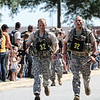 17 APR 2011 - Day three of the Best Ranger Competition finishes with the buddy run at Freedom Hall, MCoE, Fort Benning, GA, Photo by Todd Hibbs.