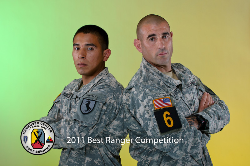 2011 Best Ranger Competition - Team #6 - SFC Anderson, SGT Del Rosario