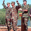1997<br /> <br /> Lt Hansen, LT Robershaw<br /> 101st Aiborne Division