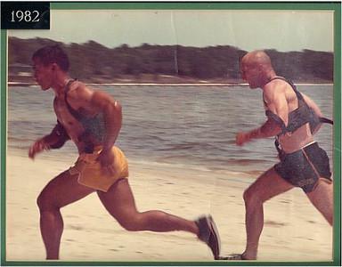 1982<br /> <br /> SFC Philip Sebay, SFC Charles R. Light<br /> 3rd Ranger Company, Benning Ranger Division