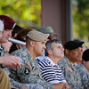 29 APR 2011 - Ranger graduation class 5-11 and Rangers in Action Demonstration, Victory Pond, MCoE, Fort Benning, GA. Photo by John D Helms.