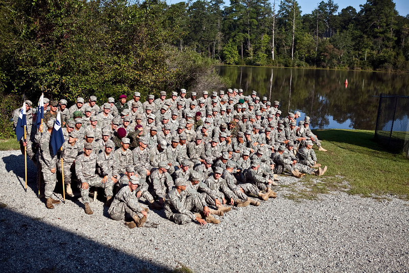 (FORT BENNING, Ga) Soldiers graduate Ranger School on Friday, September 21st, 2012 at Hurley Hill, Fort Benning, Ga. (Photo by: Patrick A. Albright/MCoE PAO Photographer)