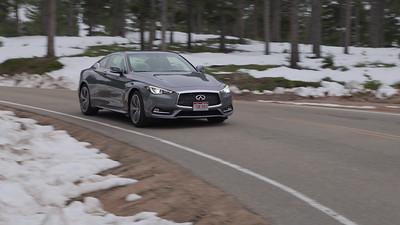 2017 INFINITI Q60 3.0t Premium AWD Driving Reel