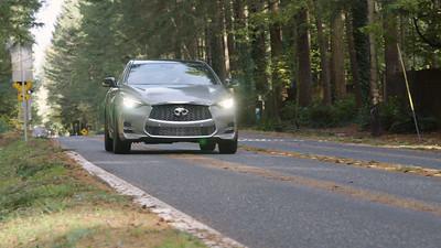 2018 INFINITI QX30 Sport Driving Reel