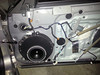 "Aftermarket speaker and speaker adapter brackets from   <a href=""http://www.car-speaker-adapters.com/items.php?id=SAK084""> Car-Speaker-Adapters.com</a>  mounted in door"