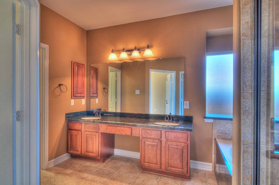 28. Double Sinks and Vanity Area