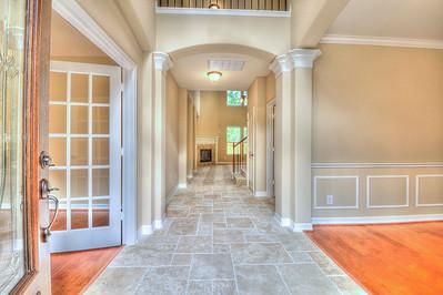 Front Door Entrance View