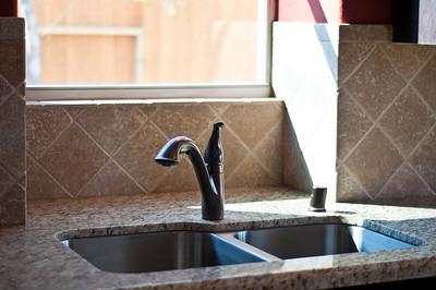Granite Tops and Diagonal Back splash