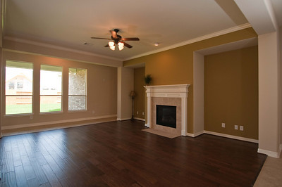 Entry View of Family Room 15x22