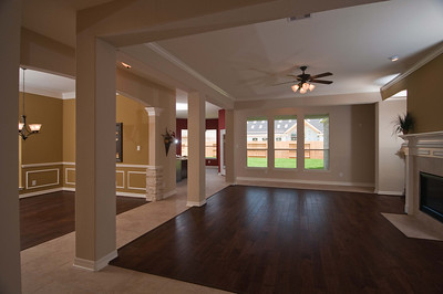 Entry View of House Open Concept