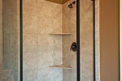 26. Tiled Shower Oil Rubbed Bronze Fixtures