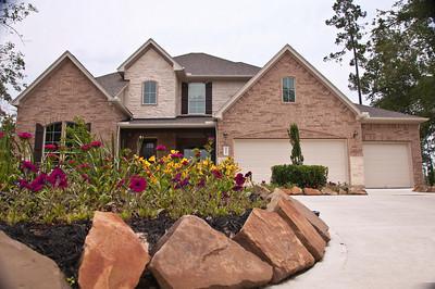 6. Optional Stone and Wood Elevation