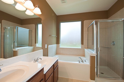 19. Separate Tub and Shower