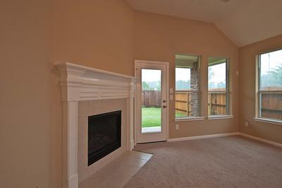 17. Corner Fireplace