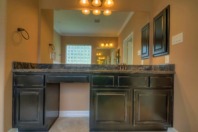 Custom Hand Picked Granite and Cabinets