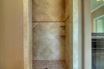Mudset Tile Shower Floor