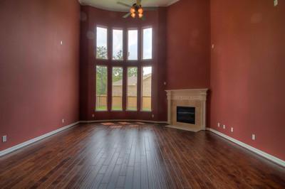 Custom Paint Family Room