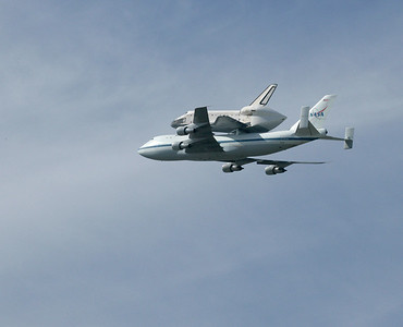 9.21.12 Space Shuttle Flyover NASA Ames