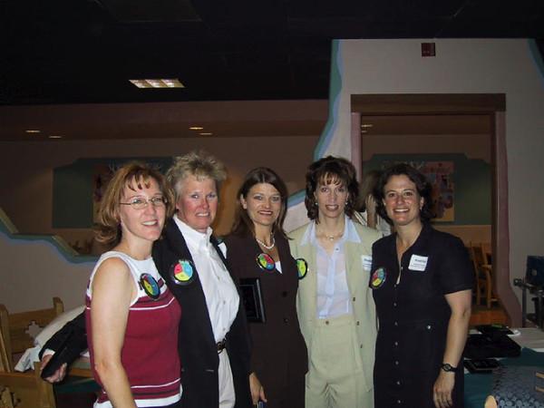 Cheryl?, Sue, Bonnie J, Shelley, Andrea