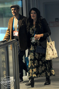 Monica Lewinsky Leaves Ted Talks With Author Randall Lane in Canada