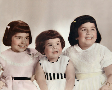 This is the result of restoration of the picture stuck to the cracked glass in a frame.