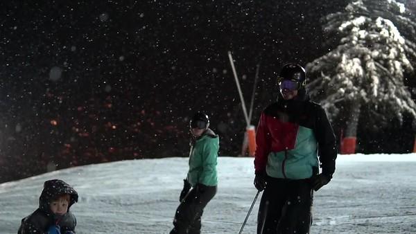 Skis Nocturne Diablerets