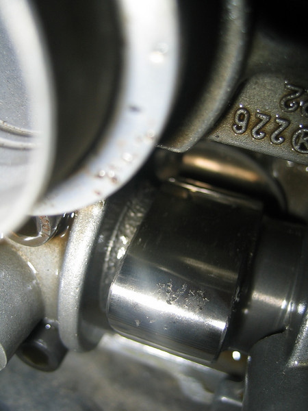 Front Right Exhaust Cam Lobe